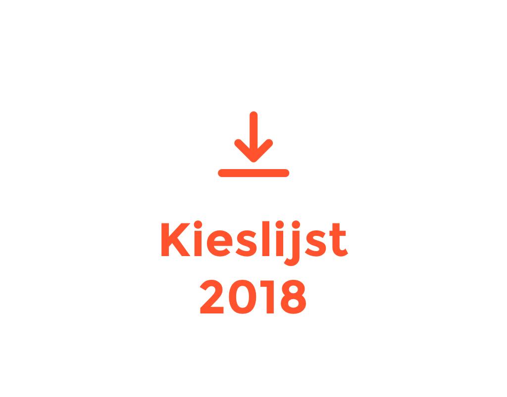 Kieslijst 2018