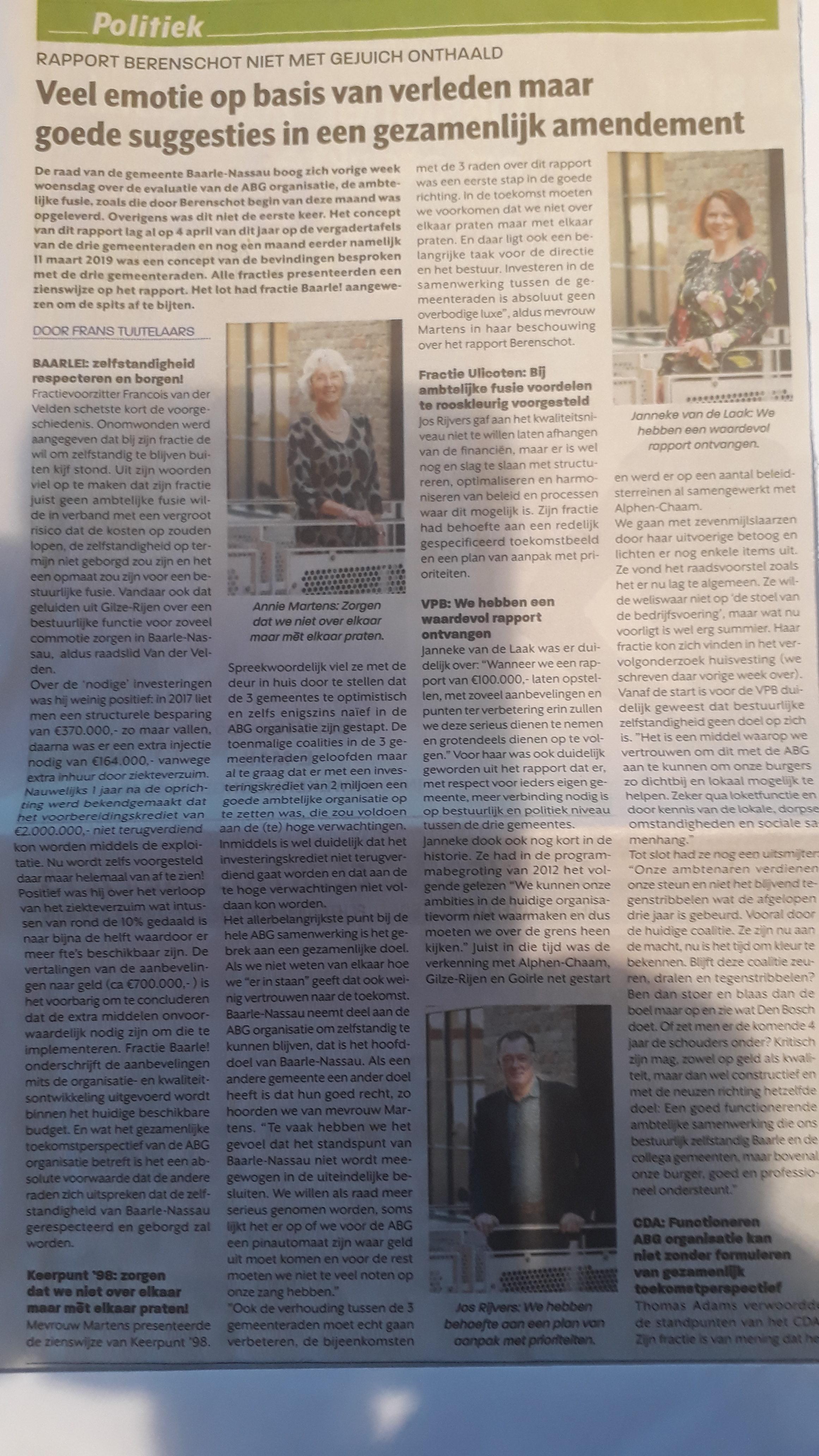 Ons Weekblad d.d. 31 mei 2019